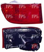 Фонарь задний для Toyota Prado 120 03-09 правый (DEPO) в бампере, с противотуманной фарой