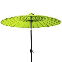 Зонт Шанхай Лимон д 2,13м, солнцезащитный зонт, зонт для пляжа, зонт для кафе, зонт для ресторана, зонт