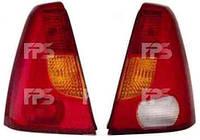Фонарь задний для Dacia Logan 04-08 правый (FPS) желто-красный