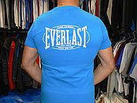 Футболка everlast .Голубая. Размер- S
