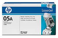 HP CE505A (05A) для HP LJ P2035/P2055d/P2055dn оригинальный картридж