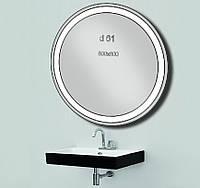 Зеркало с LED подсветкой влагостойкое d61 800х800