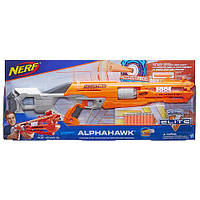Бластер NerfB7784 Нерф Аккустрайк Альфахок N-Strike Elite AccuStrike Series AlphaHawk Blaster