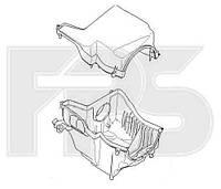 Корпус и крышка воздушного фильтра (TURBO) под цилиндрический фильтр для Ford Focus 2011-
