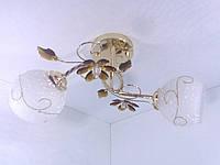 Люстра потолочная на 2 лампочки YR-4106/2-brown