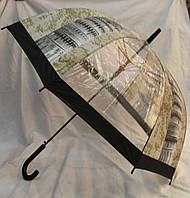 Зонт Для подростка трость полуавтомат Пизанская башня 18-3121-6