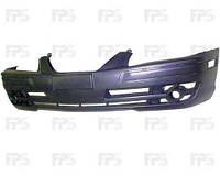 Бампер передний с отв. под п/тум с отв. для накладок для Hyundai Elantra 2004-06 (XD)