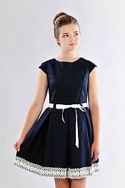 Красивое подростковое платье для школы 383
