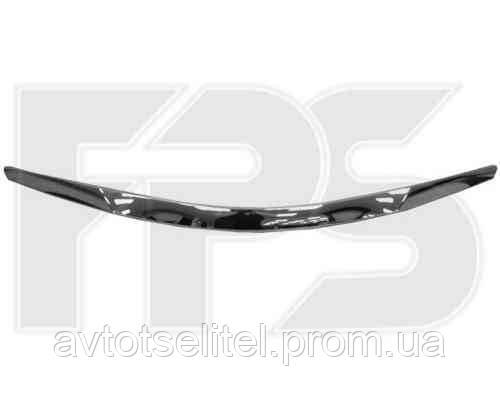 Накладка капота хром. для Hyundai Sonata 2010 - 2014 (YF)