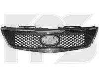 Решетка радиатора с хром.рамкой -2011 для Kia Cerato 2009-12 SDN