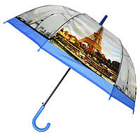 Зонт Для подростка трость полуавтомат Париж 18-3121-8