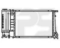 Радиатор BMW 3 (E30) 87-91/3 (E36) 90-99/5 (E34) 88-97