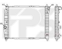 Радиатор CHEVROLET AVEO 04-06 SDN/HB (T200)/AVEO 06-12 SDN (T250)