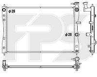 Радиатор MITSUBISHI COLT 04-09 (Z30)/COLT 09-10 (Z30)