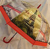 Зонт Для подростка трость полуавтомат Париж 18-3121-10