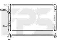 Радиатор SEAT IBIZA 93-99 +CORDOBA+INCA+VARIO 98-/INCA 95-04, VW CADDY 95-04/POLO III 94-01 CLASSIC+VAN