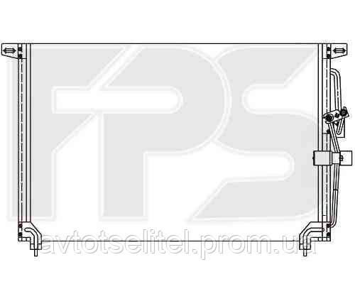 Кондиционер OPEL OMEGA B 94-99/OMEGA B 99-03