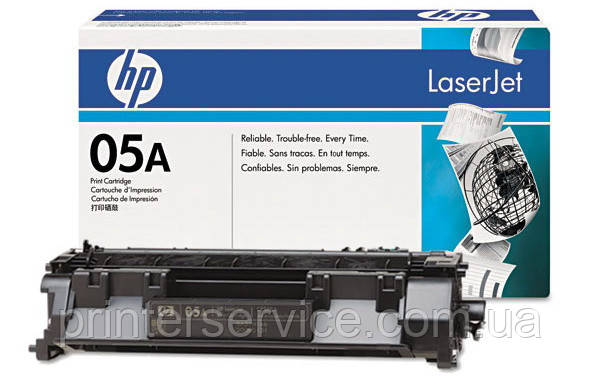 Картридж CE505A (05A) для принтеров HP LJ P2035, LJ P2055d, LJ P2055dn