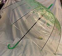 Зонт Для подростка трость полуавтомат Цветы 18-3140-1