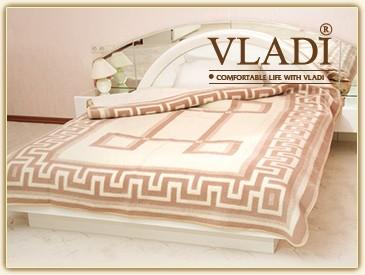 Одеяло шерстяное жаккардовое Vladi 200 х 220 см Греция