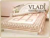 Одеяло шерстяное жаккардовое Vladi 200 х 220 см Греция, фото 1
