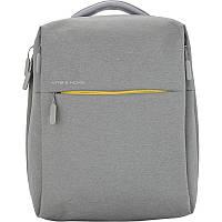 Рюкзак Kite &More-2 K17-1010M-2 школьный серый на два отдела