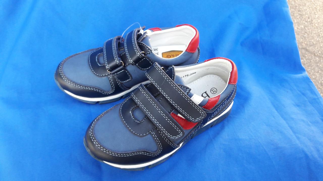 Кожаные туфли на мальчика B&G 170-209