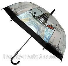 Зонт Для подростка трость полуавтомат Париж 18-3121-12