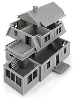 3D прототип дома