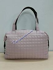 Стёганая женская сумка спортивная, фото 2