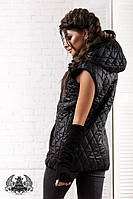 Красивая женская жилетка -фото в реале