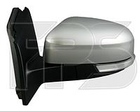Зеркало правое электро с обогревом грунт асферич 8pin с указателем поворота без подсветки с датчиком температу