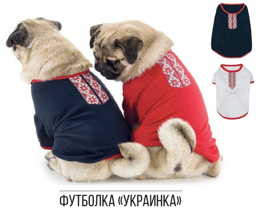 Pet Fashion Футболка Украинка XXS