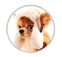 Pet Fashion Шапка зимняя Ушанка XS