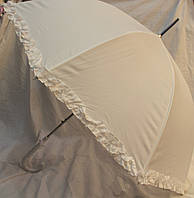 Свадебный белый зонт 18-3535-1