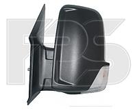 Зеркало лев. эл. с обогр. выпукл. 6 PIN +УК. пов. -подсвет SHORT ARM Volkswagen Crafter 2006-