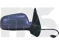 Зеркало лев. мех. с обогр. текстура плоск. голубое BIG Volkswagen Golf 1997-03