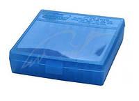 Коробка для патронов MTM кал. 45 ACP, 10мм Auto, 40 S&W. Количество - 100 шт. Цвет - голубой