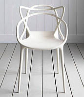 Стул Masters Chair, белый пластик PP, дизайнPhilippe Starck