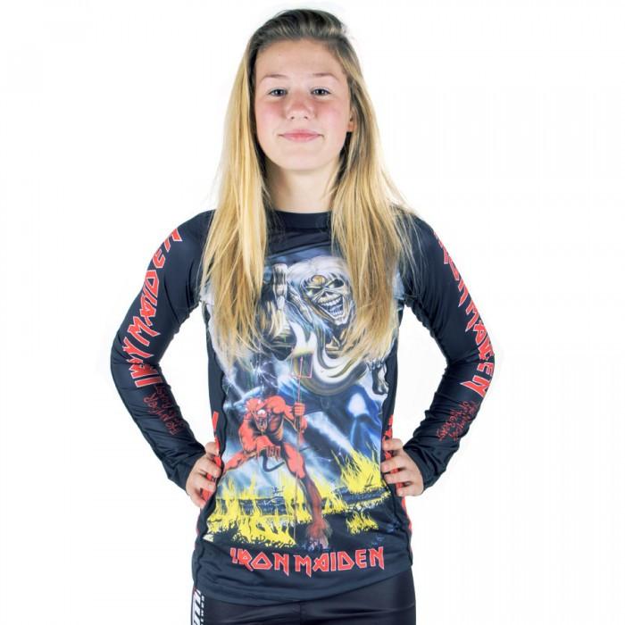 Рашгард жіночий TATAMI Ladies Iron Maiden Number Of the Beast