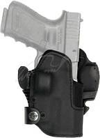 Кобура Front Line KNGxxSR с замком для Glock 17/22/31. Материал - Kydex. Цвет - черный