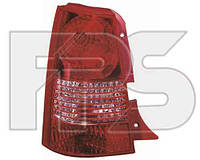 Фонарь задний для Kia Picanto 04-07 левый (DEPO)