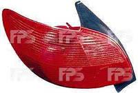 Фонарь задний для Peugeot 206 98-03 левый (DEPO)