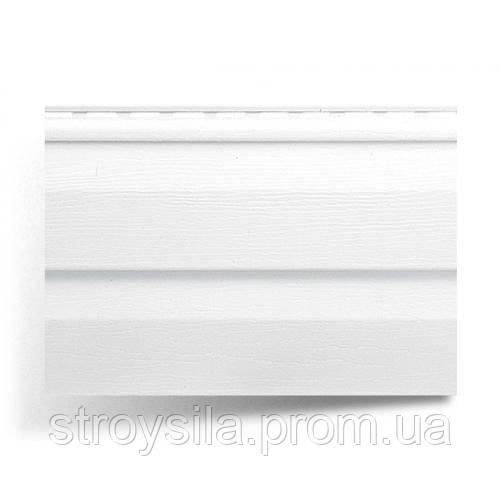 Сайдинг белый альта-профиль