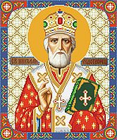Св. Николай Чудотворец схема для бисера