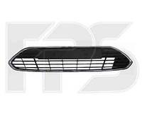 Решетка в бампере средняя черная с хром. молдингом для Ford Mondeo 2010-14