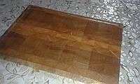 Кухонная торцевая разделочная доска 50х35х4,5 см из дуба С50х35