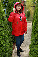 Куртка женская осенняя размеры 52-60