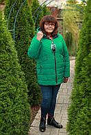 Куртка женская весна модная размеры 52-60