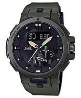 Мужские часы Casio Pro Trek PRW-7000-3ER оригинал